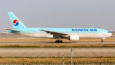 A picture of HL7574 - Boeing 7772B5(ER) - Korean Air - © Konoha