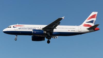 G-EUYA - Airbus A320-232 - British Airways