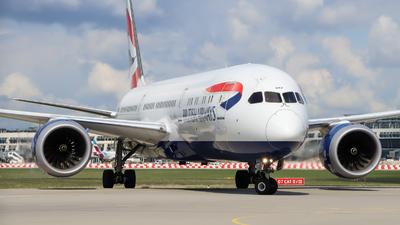 A picture of GZBKF - Boeing 7879 Dreamliner - British Airways - © Justin Stöckel