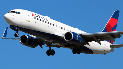 A picture of N3731T - Boeing 737832 - Delta Air Lines - © Diego Mancilla.