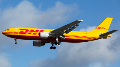 A picture of DAEAO - Airbus A300B4622R(F) - DHL - © Chris Pitchacaren