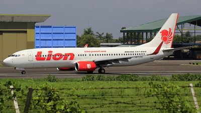 PK-LOO - Boeing 737-8GP - Lion Air