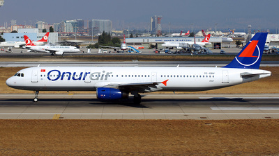 TC-OBV - Airbus A321-231 - Onur Air