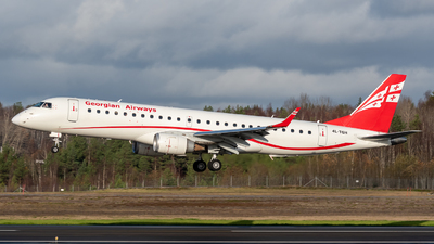 A picture of 4LTGH - Embraer E190AR - Georgian Airways - © Oscar Wistrand