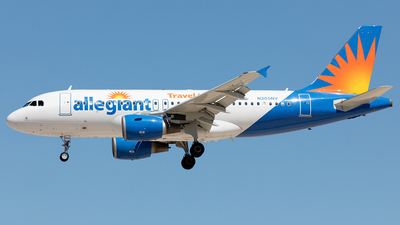 N305NV - Airbus A319-112 - Allegiant Air