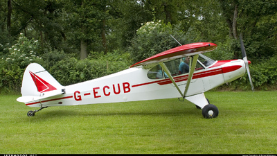 G-ECUB - Piper PA-18 Super Cub - Private
