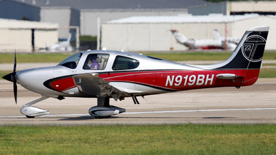 N919BH - Cirrus SR22T-GTS - Private