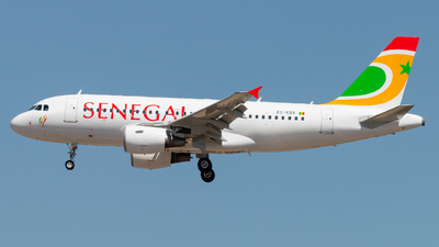 EC-KBX - Airbus A319-111 - Air Senegal
