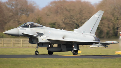 ZJ923 - Eurofighter Typhoon FGR.4 - United Kingdom - Royal Air Force (RAF)