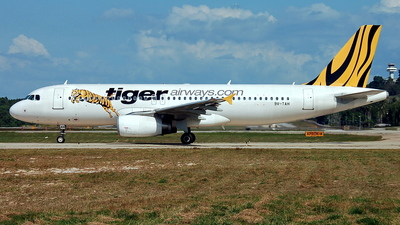 9V-TAH - Airbus A320-232 - Tiger Airways