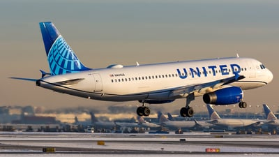 A picture of N449UA - Airbus A320232 - United Airlines - © Kevin Cargo