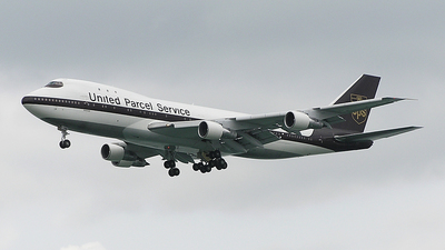 N681UP - Boeing 747-121(SF) - United Parcel Service (UPS)