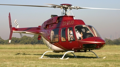 ZS-RJO - Bell 407 - Private