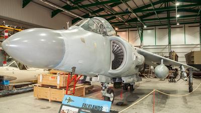 XZ499 - Hawker Siddeley Sea Harrier F/A.2 - United Kingdom - Royal Navy