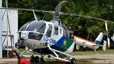 LQ-OMH - MBB Bo105CBS-5 - Argentina - Police of Buenos Aires