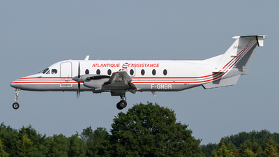 F-GNBR - Beech 1900D - Atlantique Air Assistance