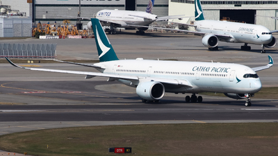 A picture of BLRT - Airbus A350941 - Cathay Pacific - © Karson