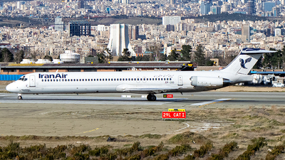 A picture of EPCBD - McDonnell Douglas MD82 - Iran Air - © Mohammad Rozve