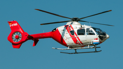 A picture of DHTMB - Airbus Helicopters H135 - HTM Helicopter Travel Munich - © Ramin