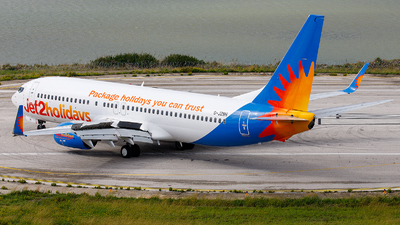 A picture of GJZBH - Boeing 7378MG - Jet2 - © James Rowson