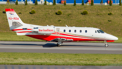 YU-RDA - Cessna 560XL Citation XLS - Air Swisslion