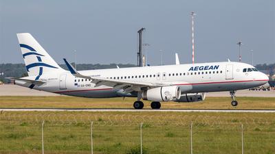SX-DND - Airbus A320-232 - Aegean Airlines
