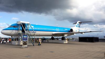PH-OFE - Fokker 100 - KLM Cityhopper
