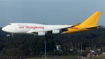 B-HOU - Boeing 747-467(BCF) - Air Hong Kong