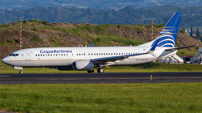 HP-1723CMP - Boeing 737-8V3 - Copa Airlines