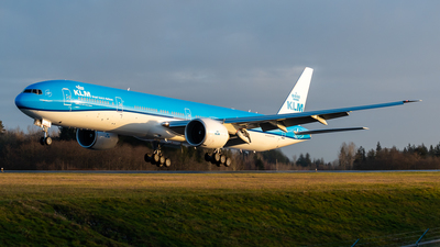 N5514J - Boeing 777-306ER - KLM Royal Dutch Airlines