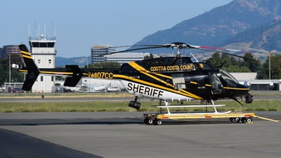 N407CC - Bell 407 - United States - Contra Costa County Sheriff
