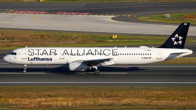 D-AIRW - Airbus A321-131 - Lufthansa