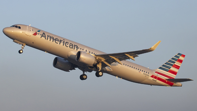 N410AN - Airbus A321-253NX - American Airlines