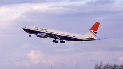 G-AXXZ - Boeing 707-336B - British Airways