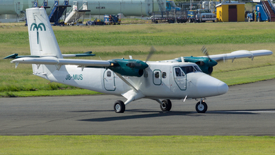 A picture of J8MUS - De Havilland DHC6300 Twin Otter - [553] - © Schwayne Jn Baptiste
