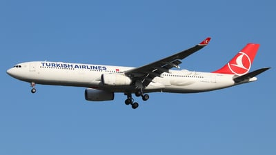 TC-LOG - Airbus A330-343 - Turkish Airlines