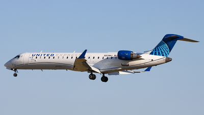N511MJ - Bombardier CRJ-550 - United Express (GoJet Airlines)