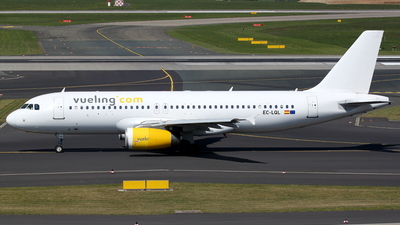 EC-LQL - Airbus A320-232 - Vueling