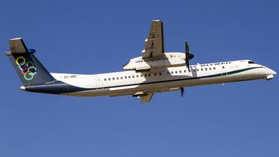 A picture of SXOBD - De Havilland Canada Dash 8400 - Olympic Air - © Mattia De Bon
