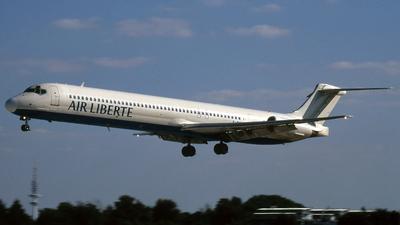 F-GHHO - McDonnell Douglas MD-83 - Air Liberté