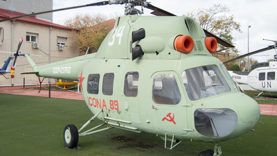 CCCP-23760 - PZL-Swidnik Mi-2 Hoplite - Soviet Union - Air Force