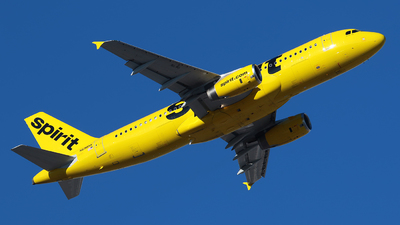 A picture of N698NK - Airbus A320232 - Spirit Airlines - © Angel Natal