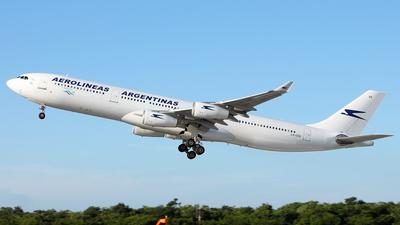 LV-CEK - Airbus A340-312 - Aerolíneas Argentinas
