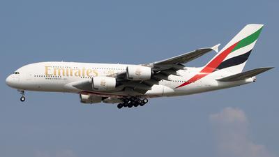 A6-EVJ - Airbus A380-842 - Emirates
