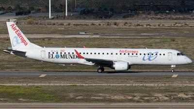 EC-LCQ - Embraer 190-200LR - Air Europa Express