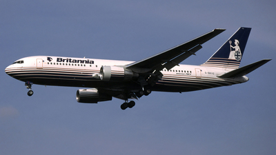 G-BKVZ - Boeing 767-204 - Britannia Airways