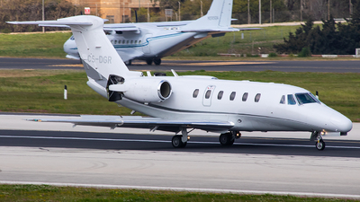 CS-DGR - Cessna 650 Citation VII - Airjetsul Aviation