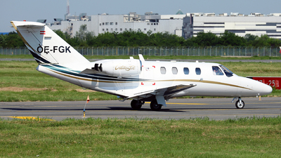 OE-FGK - Cessna 525 CitationJet 1 - Salzburg Jet Aviation