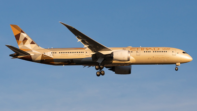 A6-BLL - Boeing 787-9 Dreamliner - Etihad Airways