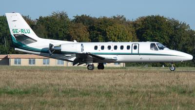 SE-RLU - Cessna 560 Citation Ultra - Private